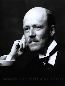 E.R. Eddison taken by George Beresford c.1922