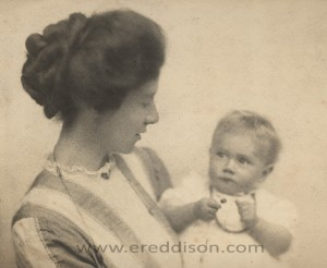 Wife and daughter of E.R. Eddison